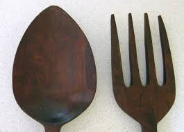 image of fork and spoon wall decor ideas on oversized wood and metal wall art with fork and spoon wall decor style park side studio good fork and
