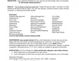 Resume General Resume Examples Awe Inspiring Resume Objective