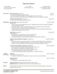 Academic Curriculum Vitae Vs Resume Automobile Salesperson Sample