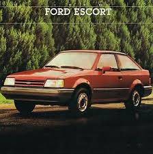 Details About 1988 1 2 Ford Escort Exp Brochure Catalog W Color Chart Pony Lx Gt 1988 5