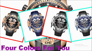 Sports Men Watches | Rose Gold <b>Military Watches</b>|Blue Rubber ...
