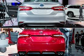 How the 2018 Toyota Camry's Trims Look Different   News   Cars.com