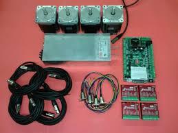 4 drive diy nema 34 electronics kit cncrouterparts konmison diy cnc router