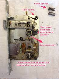 door locks how do i repair this old door lock home improvement stack exchange