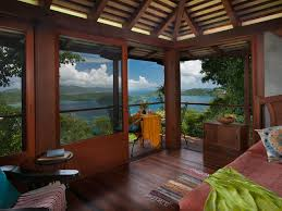 tree house pictures. View Of US Virgin Islands From Mooncottage Tree House Pictures