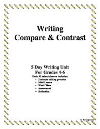 compare and contrast essay outline format compare and contrast  writing a compare contrast essay