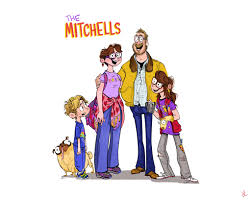 The filmmakers are always cutting to old home. The Mitchells Vs The Machines Is On Netflix Now On Twitter Buckle Up And Consider Yourself An Honorary Mitchell Check Out This Concept Art From Connectedmovie Coming Soon Lbx2020 Https T Co 596mccex0w