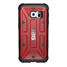Samsung S6 Edge Red Light Uag Composite Case For Samsung Galaxy S7 Red Magma