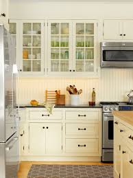 Bright Beadboard Backsplash mode Burlington Farmhouse Kitchen Inspiration  with none