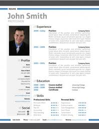 modern professional resume template Trendy: Top 10 Creative Resume  Templates for Word [Office]