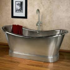 steel bathtub free standing bathtubs brush strokes inc unique kitchen and steel bathtubs steel bathtub hole