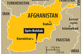 Image result for Chaman, Spin Boldak, map