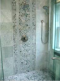 river rock shower floor bathroom pebble tiles x problems ideas p
