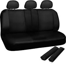 faux leather black seat cover for toyota corolla w steering wheel belt head rest