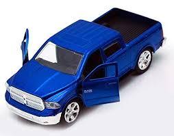 Dodge Ram 1500 Pickup Truck, Blue - Jada Toys Just Trucks 97015 ...