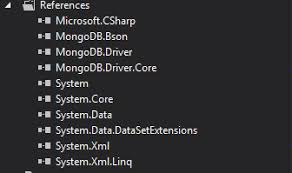 Getting started with the .Net Driver for MongoDB