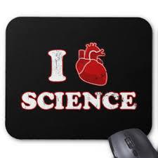 i love science i heart science anatomy mouse pad anatomy office