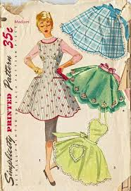 Vintage Apron Patterns Gorgeous Great Old Pattern I THINK I HAVE SOME OLD APRON PATTERNSI NEED TO