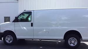 2017 Chevy Express Cargo Van 2500 Walk Around - YouTube