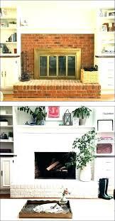 brick fireplace mantel decor s design ideas