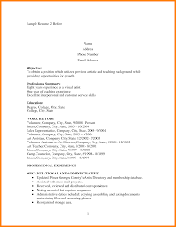 Ideas Of Resume Format For One Year Experience In Teaching Fabulous