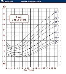 How To Interpret A Growth Chart Using The Bmi For Age Growth Charts