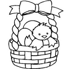 Easter Coloring Pages Easy Printable Coloring Page For Kids