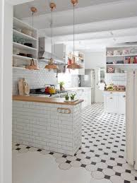 Small Picture Wonderful White Kitchen Tile Floor Ideas Tiled Floors And