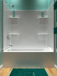 60 4 piece smooth wall remodeler tub shower