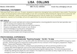 Nhs Resumes Personal Statements For Resumes Foodcity Me