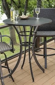 Tall Outdoor Table  OutdoorlivingdecorOutdoor Pub Style Patio Furniture