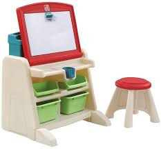 flip and doodle easel desk stool storage plenty dry erase board kids art play