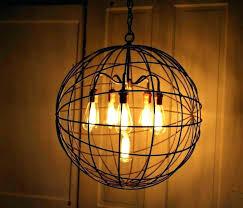 hang chandelier high