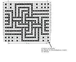 Crochet Pattern Charts Free How To Mosaic Crochet Clearlyhelena