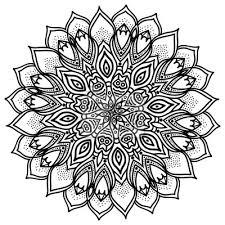 Fototapeta Mandala Velmi Detailní Ilustrace Etnické Kmenové Tetování Motivy