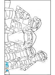 Colora I Dalton Cartoni Animati