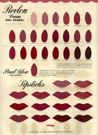 Revlon Lipstick Shades Chart Cosmetics And Skin Colour Cards
