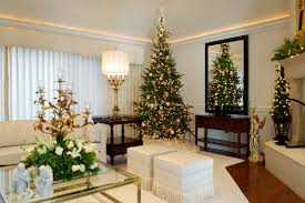 Tree Design Wallpaper Living Room Living Room Elegant Christmas Tree Decorating Ideas For Living