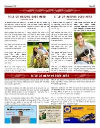 Newspaper Template No Download Free Newspaper Templates Print And Digital Makemynewspaper Com