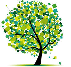 Tree Design Abstract Tree Green For Your Design Stock Vector Colourbox