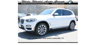2019 bmw x3 xdrive we have all colors in stocl 0 down includes with loyalty variable sport steering alarm system universal garage door opener rear view