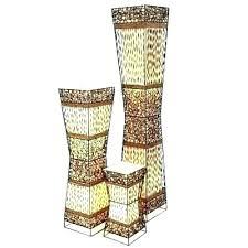 wicker heart table lamp homebase lamps unique floor rattan in prepare 3 amazing regarding designs large rattan table lamp