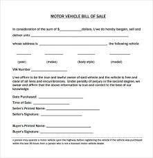 Car Bill Of Sale Pdf Vehicle Bill Of Sale Form 2254600197 Bill Of Sale Form Pdf 47