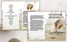 How To Make A Funeral Program How To Make A Funeral Program Memorial Booklet