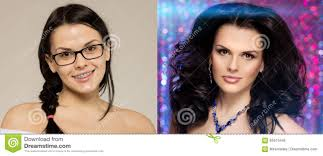 before after nerd turns into a beauty queen ugly duck beauty and