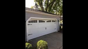 Hormann 3200 16x6.9 cottage garage door dbl arch obscure glass ...