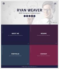 Insurgent - Personal Vcard Resume WordPress theme