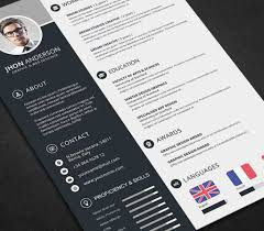 Cv Resume Template Psd Design Resume Template New Designer Cv Free Psd Of Download 1