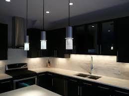 ... Black Kitchen Cupboard Designs Trends Including Cabinet Design  Inspirations With Hanging Lamps And Dark ...