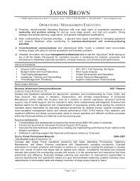Resumes For Operations Managers Best Operations Manager Resume